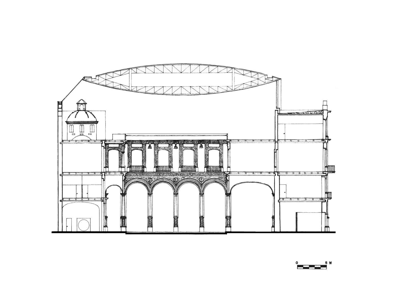 RESTAURACIÓN DEL PALACIO DE ITURBIDE|Fotografía de : © Colección  LEGORRETA<sup>®</sup>