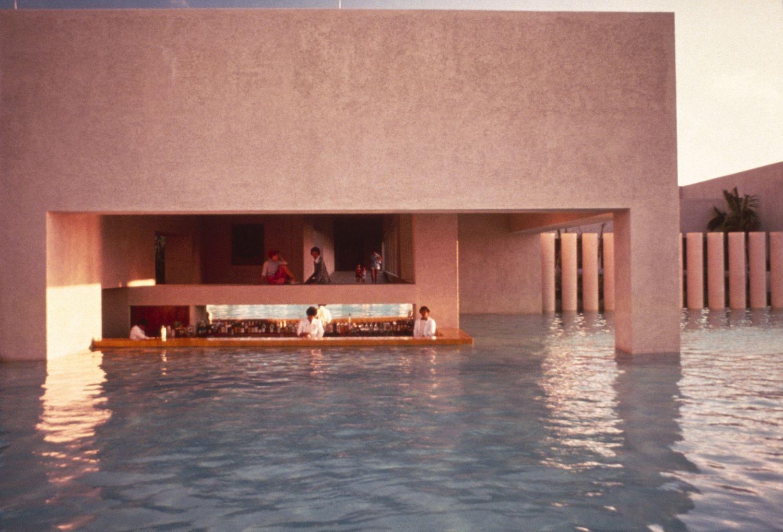 HOTEL CAMINO REAL MONTERREY|Fotografía de : Julius  Shulman © J. Paul Getty Trust. Getty Research Institute, Los Angeles
