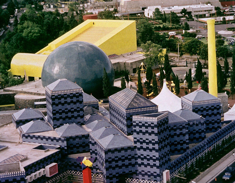 RENOVACIÓN PAPALOTE MUSEO DEL NIÑO Fotografía de : © Colección  LEGORRETA<sup>®</sup>